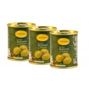 Aceituna Campomar Rellena Anchoa 280/300 120 Gr (Pack-3)