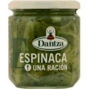 Espinacas al natural Fco. 370 ml. MONORACIONES