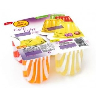 Gelatina Light 4 sabores Pack-4 x 100 Gr.