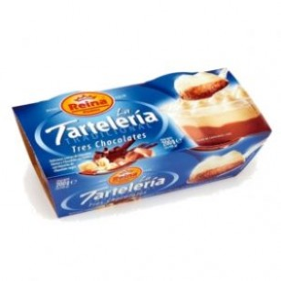 La Tartaleria 3 Chocolates Pack-2 x 100 Gr.