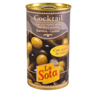 Aceituna Cocktail L/370 ml.